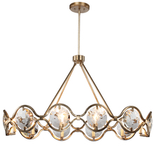 Crystorama QUI-7629-DT - Quincy 10 Light Distressed Twilight Chandelier